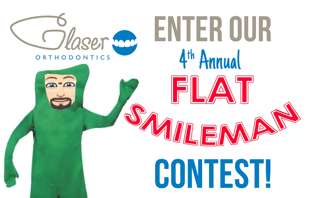 Enter Our 4th Annual Flat Smileman Contest!